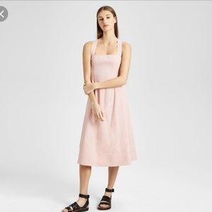 Theory Bustier Sun Dress Organic Crush  00